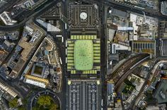 On the fly - Jeffrey Milstein's aerial photographs of London