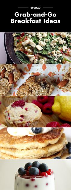 Grab It and Go! Healthy Make-Ahead Breakfast Ideas