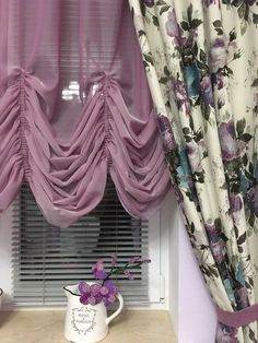 Balloon Curtains, Swag Curtains, Gold Curtains, Ikea Curtains, Drop Cloth Curtains, Modern Curtains, Hanging Curtains, Curtains With Blinds, Painted Curio Cabinets