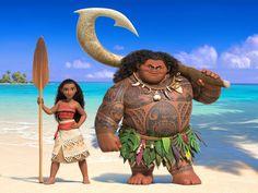 Moana & Maui from MOANA (German Title: VAIANA) - Disney Animation Entertainment - kulturmaterial