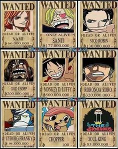 Can't wait to see Sanji s reaction when he learns that Usopps bounty is higher than his