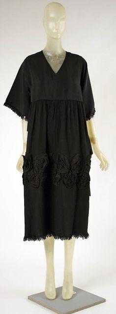 Dress Madeleine Vionnet (French, Chilleurs-aux-Bois 1876–1975 Paris) Date: 1917 Culture: French Medium: silk Dimensions: Length at CB: 47 in...