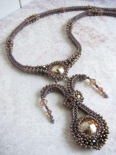 Necklace 'Harlequin' - Trinkets Beadwork