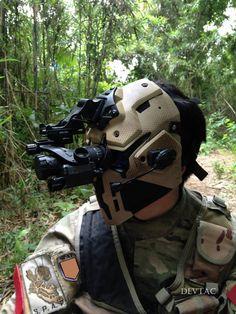 Devtac mask with visor