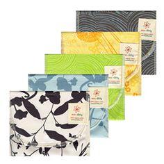 100% Organic Cotton Reusable Snack Bag (more patterns)