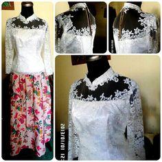 Wariza MODES Kebaya kombinasi batik. Made by order..