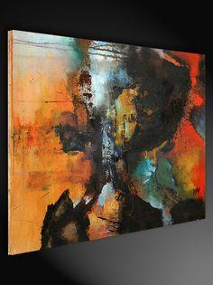 Gemäldetitel: Aura Künstler: Agnes Lang Maße: 80 x 60 cm Material: feinste Künstleracrylfarben, Leinwand auf Holzkeilrahmen Stilvolles modernes Gemälde, signiert & datiert.