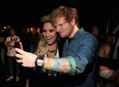demi and ed sheeran