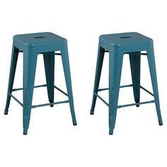 $71.24 Seat-to-Floor Height: 23.970 inches http://www.target.com/p/carlisle-metal-24-counter-stool-set-of-2/-/A-14604480?clkid=adc4b795N75ee2ba2721de5b727856977&lnm=81938&afid=POPSUGAR&ref=tgt_adv_xasd0002