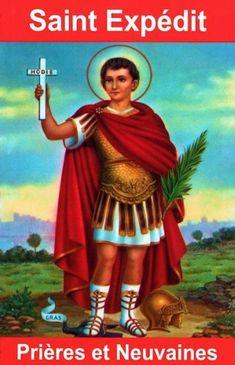 Novena to Saint Expedite Ste Therese, Padre Celestial, Special Prayers, Religious Art, Mystic, Religion, Wonder Woman, Christian, Superhero
