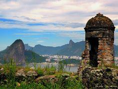 Forte São Luiz - Niteroi - Rio de Janeiro by .**rickipanema**., via Flickr