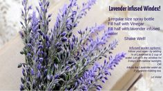Green Tip: Lavender improves the mood, helping you cope better with anxiety, stress and alleviates migraines! Happy cleaning!