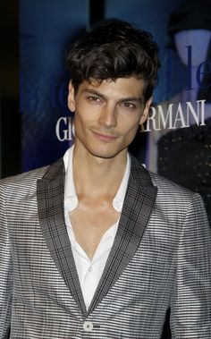 Javier de Miguel attends Giorgio Armani and Vogue party on March 17, 2011 in Madrid, Spain.