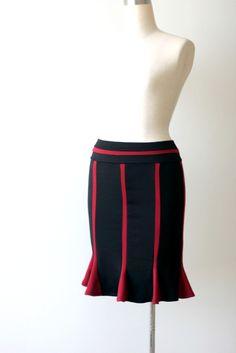 Winter pencil skirt. Plus size winter skirt. Womens skirt for plus size.. $79.00, via Etsy.