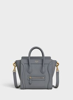 3875184e17e3 Nano Luggage bag in baby drummed calfskin. Discover the latest hand carry  collections on CELINE Official Website