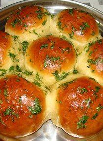 Вкусные пампушки: круче, чем в ресторане Blue Food, The Dish, Bakery, Recipies, Bread, Dishes, Cooking, Ethnic Recipes, Sweet