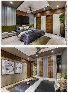 The furniture placed in a bedroom should be carefully considered; after all, it defines the space more so than anything … Bedroom False Ceiling Design, Bedroom Door Design, Home Decor Bedroom, Bedroom Interiors, Bedroom Furniture, Room Decor, Indian Bedroom Design, Modern Bedroom Design, Bed Design