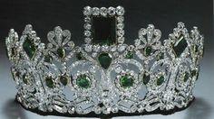 Tiara of Empress Josephine, Napoleon's first wife.