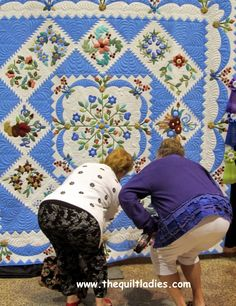 "Check This Quilt Out! - hehe, that is so the norm at a quilt show...like guys saying ""whoa! Check those rims!"""