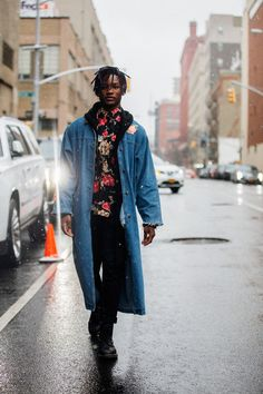 Street style Fashion Week homme automne hiver 2017 2018 New York 41