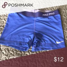 Nike Pro shorts Nike pro shorts worn once or twice - excellent condition size large Nike Shorts