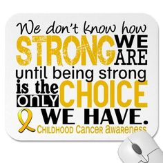 September is Childhood cancer awareness month. Pray for prevention, not just a cure.