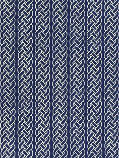 Chain Navy Hand-Tufted Rug - Gilt Home