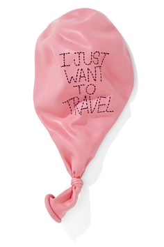 I just want to travel. #balloon