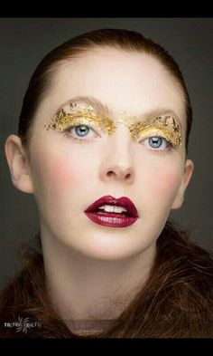 Makeup by me for high fashion beauty Photoshoot