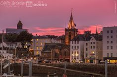 1 of 2: Just before 5pm tonight an unusual phenomena occurred in St Peter Port.The town & harbour turned pink for approximately 5 minutes. Quite an extraordinary sight if you were there! #Guernsey #GreatThings  Link to the whole collection of 'Georgie's Guernsey' :-http://chrisgeorge.dphoto.com/#/album/4daaes  Picture Ref: 30_10_15 — in St. Peter Port, Guernsey, Channel Islands.