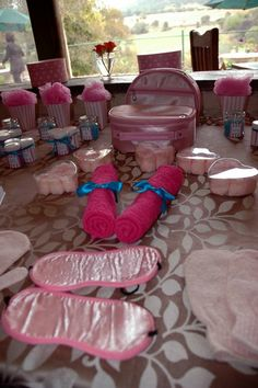 """Photo 30 of 83: Spa Party / Birthday """"Jade's Spa Party"""" 