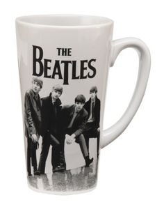 Vandor 64666 The Beatles Black And White 14 Oz Latte Mug, Black And White, 2015 Amazon Top Rated Cups, Mugs & Saucers #Kitchen