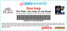 Petco: FREE Purina Pro Plan Dry Food for Cat or Dog