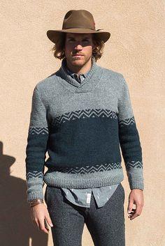 ba4c67fc2212 Arkansas River Pullover pattern by Irina Anikeeva. StockinetteCable Knit  SweatersCozy ...