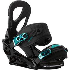Burton Stiletto Womens Snowboard Bindings: Black