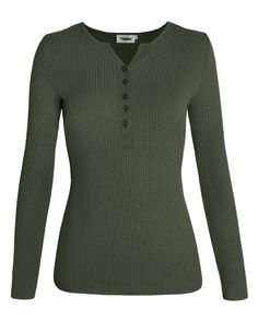 CYJ-shiba Womens Lace Up Front V Neck Long Sleeve Knit Striped Long Sweater Tops