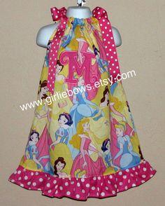 Princess Ruffled Pillowcase Dress