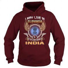 Slovakia-India - #teeshirt #funny tees. I WANT THIS => https://www.sunfrog.com/LifeStyle/Slovakia-India-97835950-Maroon-Hoodie.html?id=60505