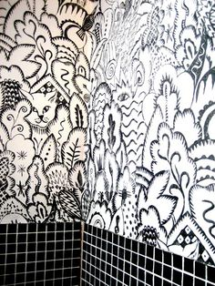 Our Designs - unique wallpaper Handmade by Dunford Wood