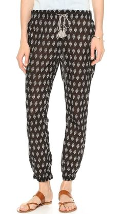 Madewell Shorewalk Pants {perfect for over a bikini}