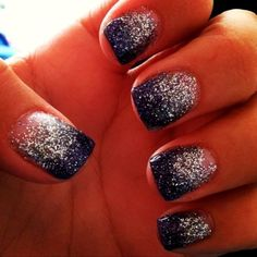 Beauty Inspiration | Glitter Gel Nails http://www.lmnail.com/shellac-soak-off-uv-gel-nail-polish-color-40529.html