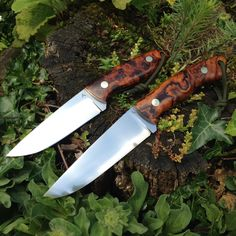 Bushcarver S2 and ChyRose Classic. Desert Ironwood on RWL-34.