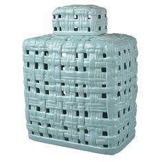 Lidded Ceramic Jar