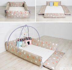 Maming Baby Bumper Bed Mat EMS