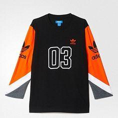 (アディダス オリジナルス) adidas ORIGINALS COLOR BLOCK 3/4 TEE AO054... http://www.amazon.co.jp/dp/B01GFSE4DE/ref=cm_sw_r_pi_dp_27.txb1JD9CE3