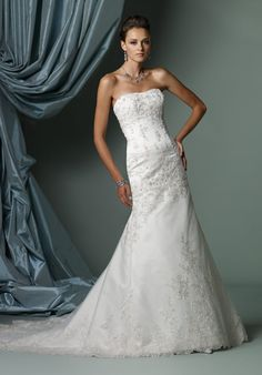 Check out this #weddingdress: J11245 by James Clifford Collection via iPhone #TheKnotLB from #TheKnot