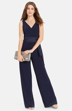 Ralph Lauren Lauren Wide Leg 14 Navy Romper/Jumpsuit. Free shipping and guaranteed authenticity on Ralph Lauren Lauren Wide Leg 14 Navy Romper/JumpsuitMore product details  Designed with a flattering...