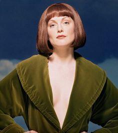 Maude Lebowski - I've always wanted that velvet robe!                                                                                                                                                     More