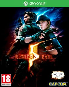 Become an agent of change in the actionpacked Resident Evil 5 (Xbox One) - Campcom. The game works for Xbox One consoles. The roleplaying video game is recommended for ages 17 and up. Resident Evil 5 Xbox One Video Games Resident Evil 5, Playstation Games, Xbox One Games, Ps4 Games, Playstation Consoles, Pc Ps4, Games Consoles, Nintendo 3ds, Monster Hunter