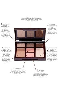 5417c87263fc Charlotte Tilbury Instant Beauty Palette - The Dolce Vita Look 5-Minute Face  On the Go ( 147 Value)